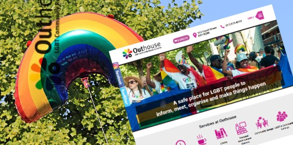 LGBT Website Design for OUTHOUSE.IE